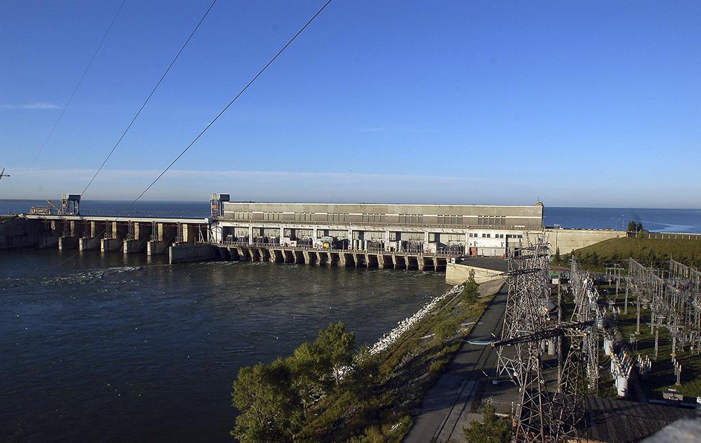 Новосибирская ГЭС 2009 г.