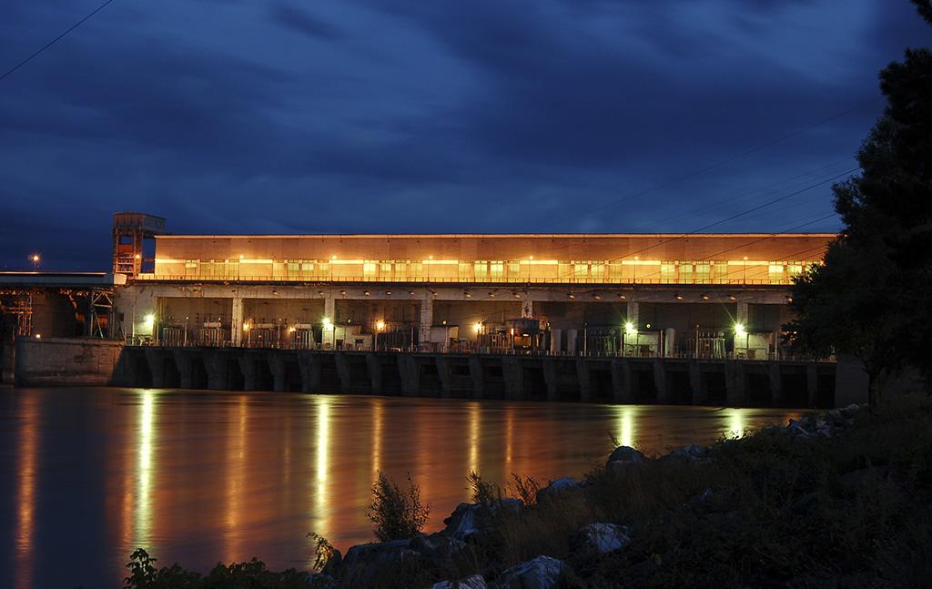 Новосибирская ГЭС 2016 г.